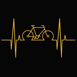 t-shirt Electro cyclisme