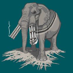 t-shirt Défenses d'éléphant