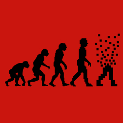 t-shirt Évolution numérique