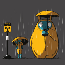 t-shirt Totoro Fukushima