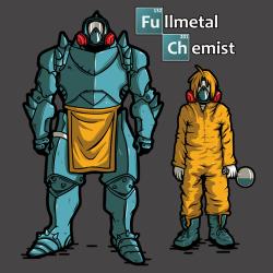 t-shirt Fullmetal alchemist – chemist