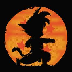 t-shirt L'entraînement de Son Goku