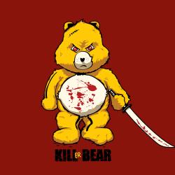 t-shirt Kill Bill….Kill Bear….