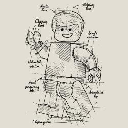 t-shirt Lego Plan