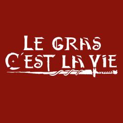 t-shirt Le gras c'est la vie