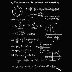 t-shirt 42 le sens de la vie