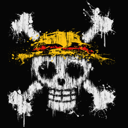 t-shirt One Piece Skull