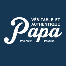 t-shirt Papa poule papa ours