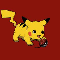 t-shirt Pikachu – Picatchu