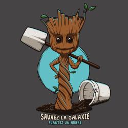 t-shirt Groot – Plantez un arbre