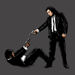 t-shirt Pulp Fiction – Reservoir Dogs