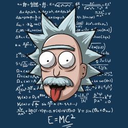 t-shirt Rick Sanchez – Einstein