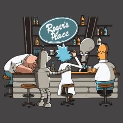 t-shirt American bar