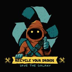 t-shirt Jawas – Sauvez la galaxie