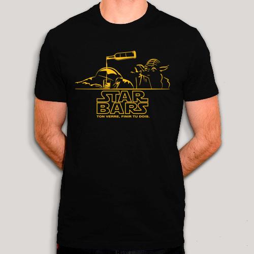 Tee shirt Star Wars au bar | Coton 100% Bio