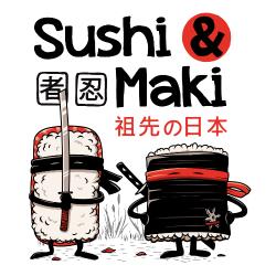 Sushi et Maki Ninjas