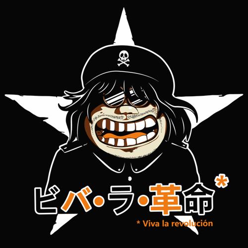 Toshiro T Shirt Albator Dessin Parodique De Che Guevara