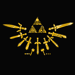 t-shirt Triforce