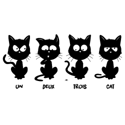 Un, deux, trois, cat