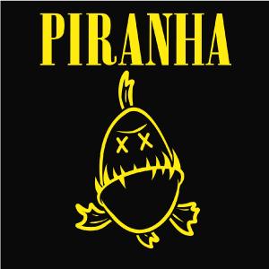 dessin t-shirt Piranha geek original