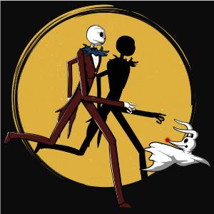 dessin t-shirt Jack et Zero geek original
