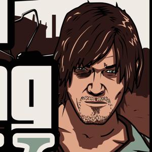 zoom t-shirt Grand Walking Dead geek original