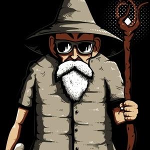 zoom t-shirt Gandalf Génial geek original
