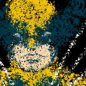 zoom t-shirt Wolverine peinture geek original