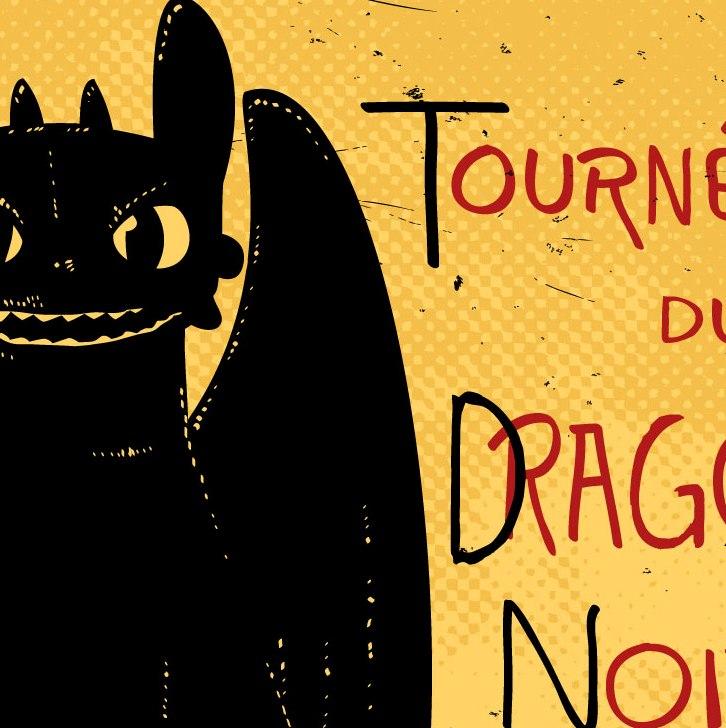 zoom t-shirt Dragon noir geek original