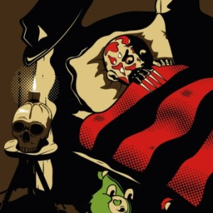 zoom t-shirt Freddy et les Bisounours geek original