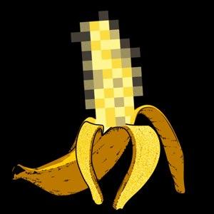 dessin t-shirt Une banane obscène geek original