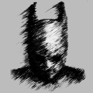 dessin t-shirt Dark Batman geek original