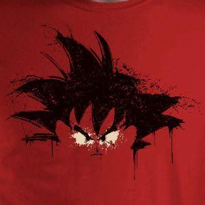 dessin t-shirt Peinture de Songoku geek original