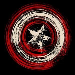 dessin t-shirt Captain America geek original