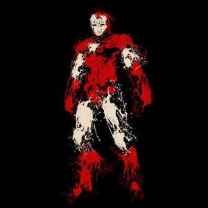 dessin t-shirt Iron man geek original
