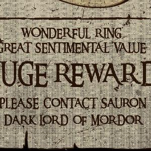 zoom t-shirt Le seigneur des anneaux et Sauron geek original