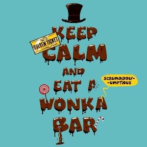 dessin t-shirt Charlie et la Chocolaterie geek original