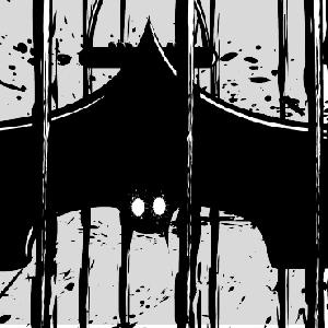 zoom t-shirt Batman en cage geek original