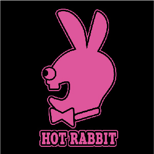 dessin t-shirt Un lapin cretin playboy geek original