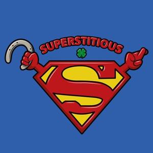 dessin t-shirt Superstitieux geek original