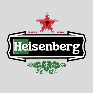 dessin t-shirt La bière Heisenberg geek original
