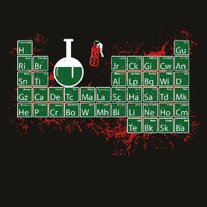 dessin t-shirt La fin de Breaking Bad geek original