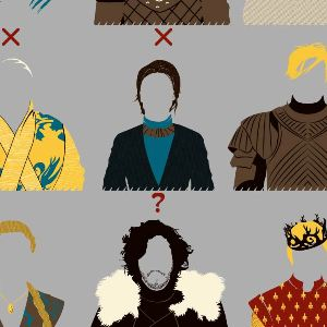 zoom t-shirt Les personnages morts de Game of Thrones geek original
