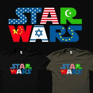 dessin t-shirt La guerre des étoiles geek original
