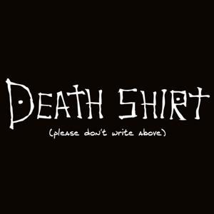 dessin t-shirt Death Shirt geek original