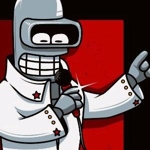 zoom t-shirt Love me tender, love me Bender geek original