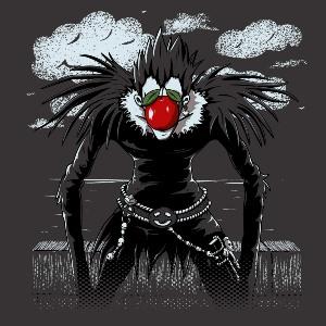 dessin t-shirt La pomme de Ryuk geek original