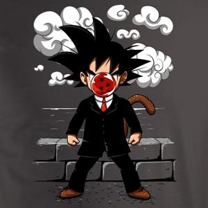 dessin t-shirt Magritte & Sangoku geek original