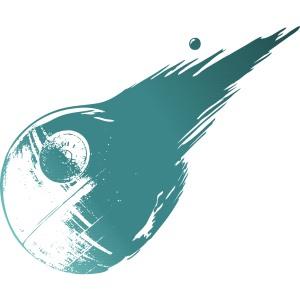 dessin t-shirt Final Fantasy 7 version Star Wars geek original