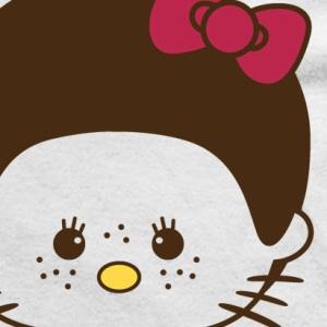 zoom t-shirt Hello Kitty, Hello Kiki geek original